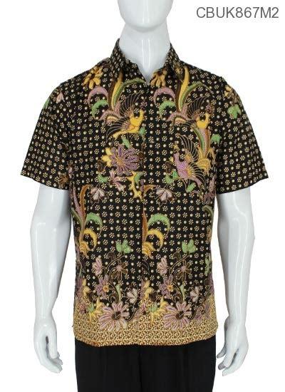 Kemeja M2 baju batik kemeja bunga jago kemeja lengan pendek murah batikunik