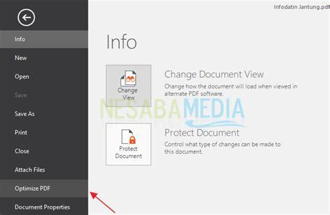 compress pdf with nitro 4 cara kompres file pdf hingga berkurang 163 lengkap gambar