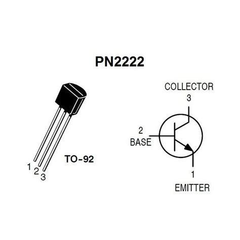 transistor npn pn2222a transistor pn2222 2n2222