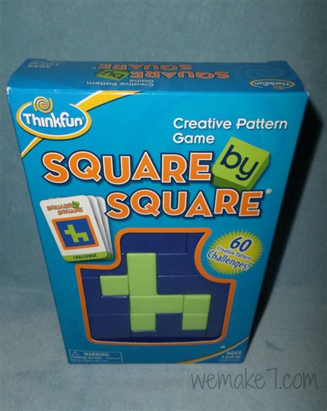creative pattern games get creative with the quot square by square quot pattern game for