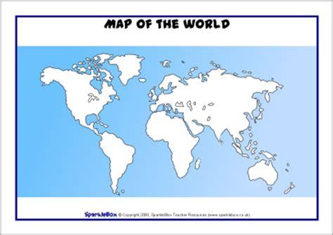 printable world map ks1 map of the world sheets sb6587 sparklebox