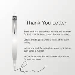 donor thank you letter auctria user guide