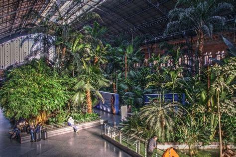Botanical Garden Inside Atocha Train Station Madrid Botanical Garden Station
