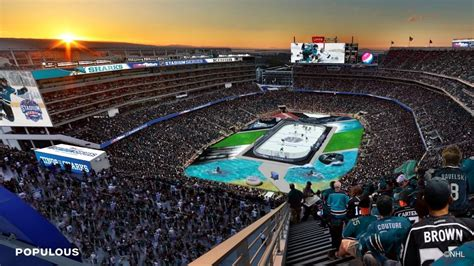 coors light outdoor series nhl unveils architectural rendering of 2015 coors light