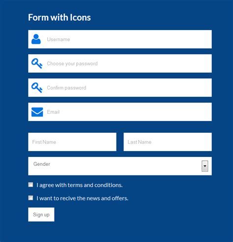 registration form in html template 11 best photos of best html css form design htmlform css