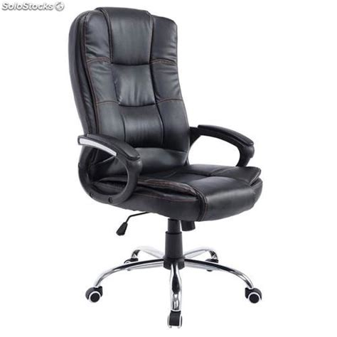 sillon de oficina sill 243 n de oficina paraguay en piel color negro