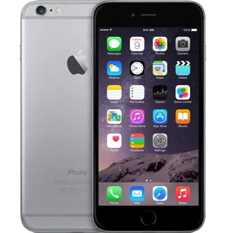 Iphone 6 Plus 128gb 3143 by Apple Iphone 6 Plus 128gb Space Gray Mp Cz