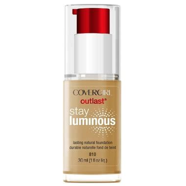 Covergirl Outlast Stay buy covergirl outlast stay luminous foundation classic