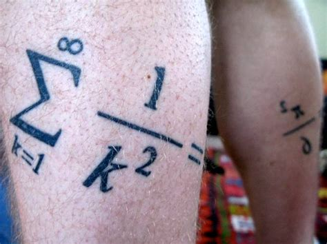 math tattoo 1887tattoos math tattoos