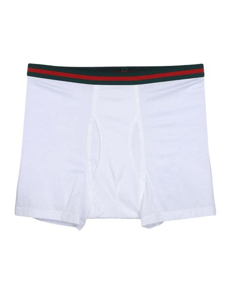 boxers for lyst gucci boxer in white for