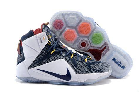 Sepatu Basket Lebron Soldier 11 Yellow Blue cheap nike lebron 12 navy blue white shoes cheap lebron