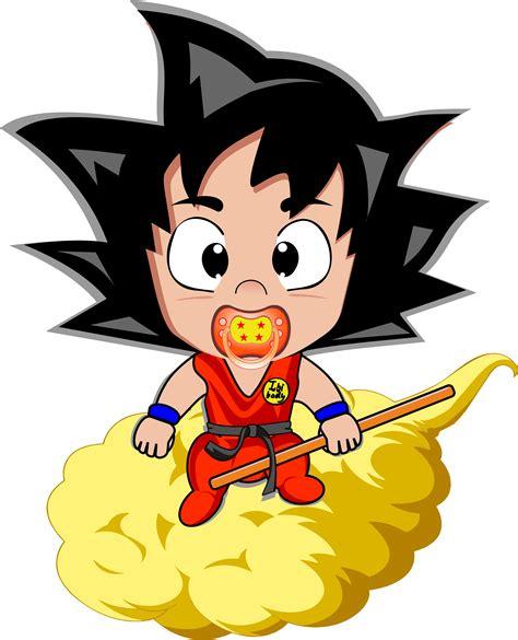 Imagenes De Goku Bebe | goku beb 233 camisetas trochemoche