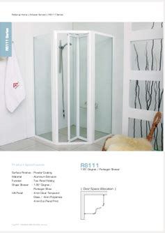 glass folding shower doors for pentagon shape rs111 reliance homereliance home
