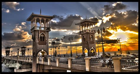 stanly bridge alexandria  yehiazz  deviantart