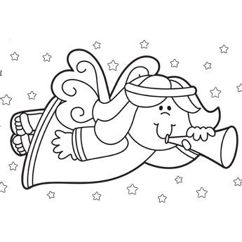 christmas angel coloring page bible coloring pages