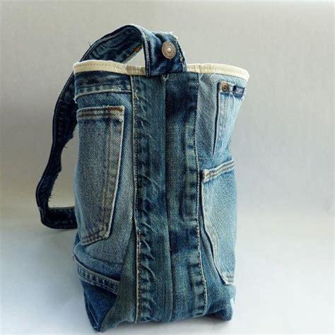 upcycled denim upcycled denim tote bag