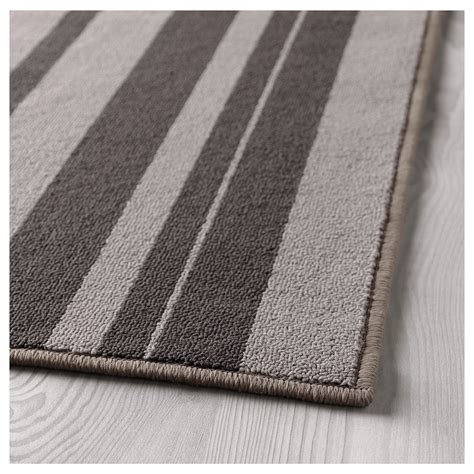 low pile rug meaning ibsted rug low pile grey 120x180 cm ikea