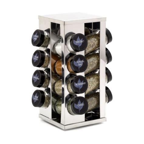 Kamenstein 16 Jar Revolving Spice Rack Kamenstein Heritage 16 Jar Revolving Countertop Spice Rack