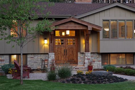 split level front porch designs exterior traditional exterior minneapolis by