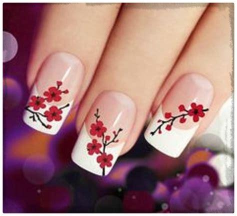ver imagenes de diseños de uñas de flores archivos