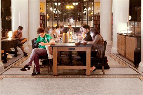 ace hotel s communal workspace shows a winning