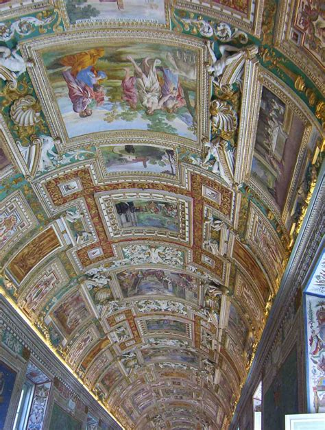Vatican Ceiling by Intricate Painted Ceiling Vatican City Rome Begins At 37 And A Half