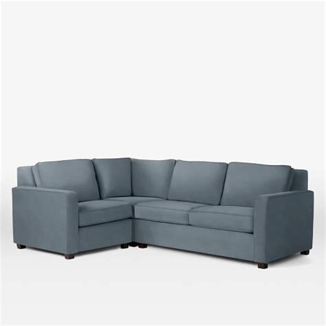 Henry 174 3 Piece Sectional West Elm Henry Sectional Sofa
