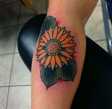 traditional sunflower tattoo sunflower ting ting tattoos picture sunflower
