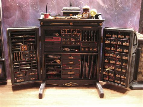 furniture classics apothecary cabinet magnificent 1 12 scale witch wizard s apothecary