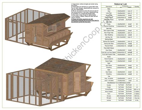 building a hen house free plans hen house plans how to build a hen house free plans with inside layout of chicken