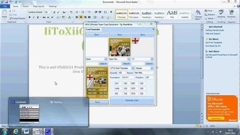 how to make your own ultimate team card how to create your own fifa 12 ultimate team card