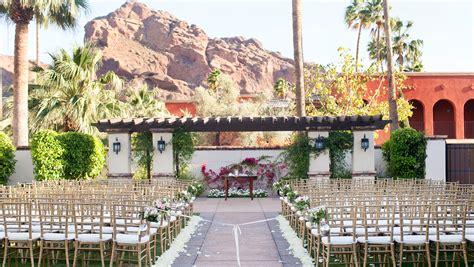 resort wedding venues in new wedding venues in arizona omni scottsdale resort spa