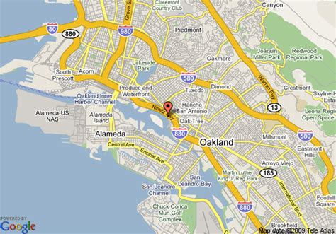 oakland california map map of executive inn and suites oakland oakland