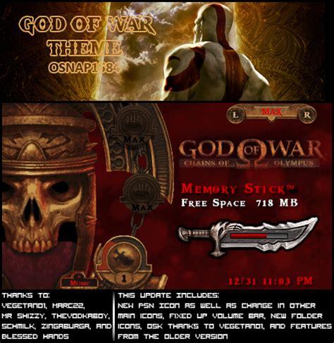 theme psp god of war ptf psp tr tema film oyun theme ctf game iso
