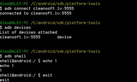 android shell commands debugging android applications remotely cleansoft