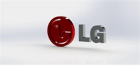tutorial logo lg lg logo solidworks 3d cad model grabcad