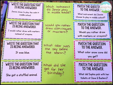 Restating The Question Worksheet by Teaching With A Mountain View Restating The Question Lesson