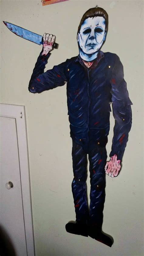 Michael Myers Decorations by Get Your Michael Myers Horror Hanger Decoration