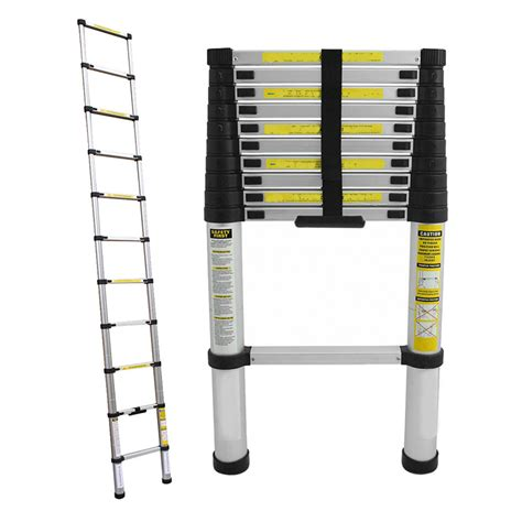 Promo Tangga Telescopic 38 Meter Aluminium Multi Kualitas Mantap 3 8m telescopic ladder multi purpose locking extension steps ladder from category ladders