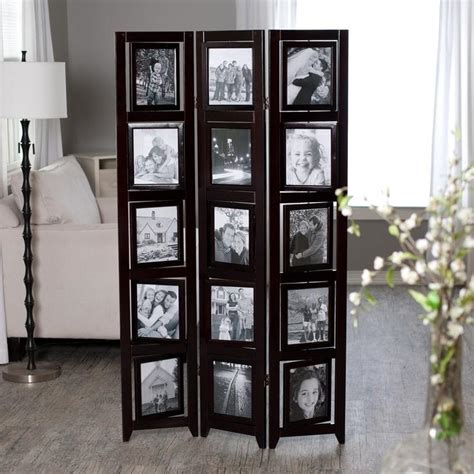 Room Dividers With Photo Frames Room Divider Picture Frame