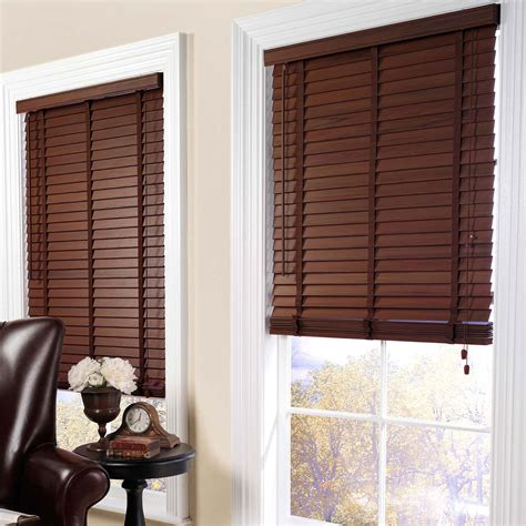 wood blinds with curtains using window coverings as room dividers