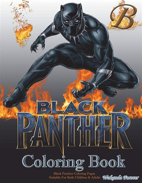 black panther coloring book black panther coloring book black panther coloring pages