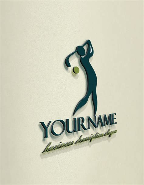 free golf logo design exclusive design golf logo compatible free business
