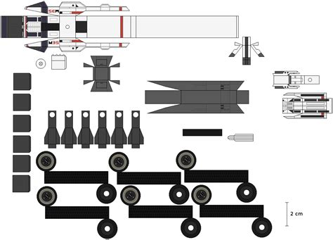 Papercraft Guns Templates - me mako papercraft wip by johnnymuffintop on deviantart