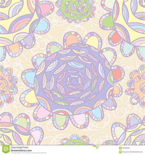 pastel graphic pattern pastel color flower design draw stock vector image 58160336