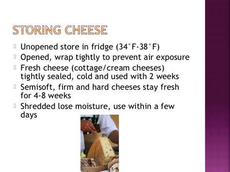 How Is Unopened Cottage Cheese For by Intro To Cheese Unit Aug2012