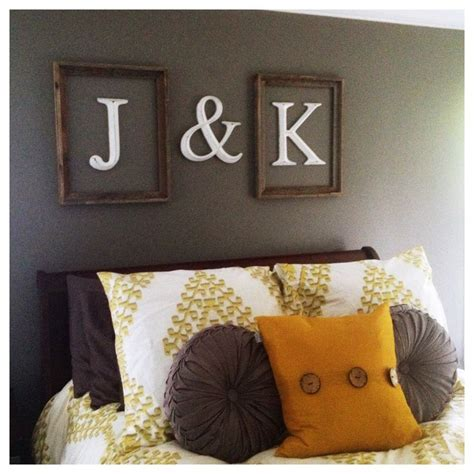 wall decor above best 25 above bed decor ideas on grey room