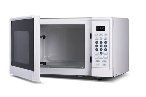 westinghouse 0 6 cu ft counter top microwave in black westinghouse wcm990w 900 watt counter top microwave oven