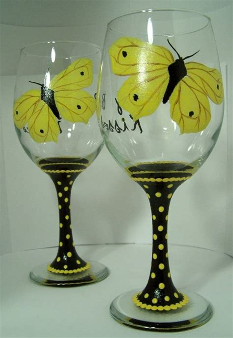 Butterfly Wine Glass Place Card Template by Butterfly Wine Glasses Louisiana Brigade