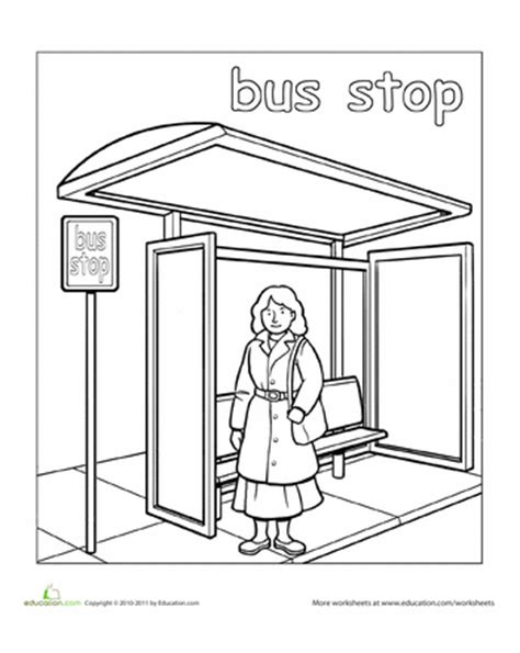 preschool coloring pages grocery store paint the town coloring pages education com